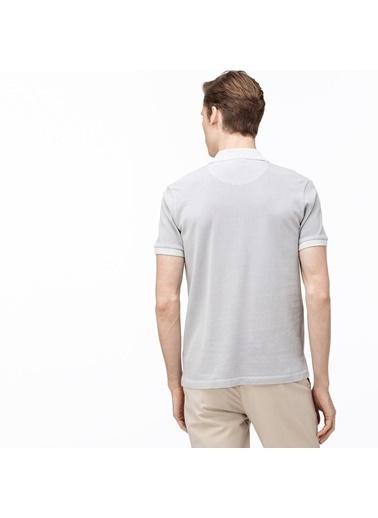 Lacoste Erkek Slim Fit Tişört PH0037.P0Y Gri